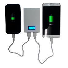 Power bank para dois celulares