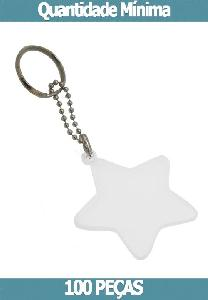 Chaveiro Acrilíco estrela