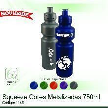 Squeeze 750ml Cores Metalizadas
