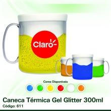 Caneca Térmica Gel Glitter