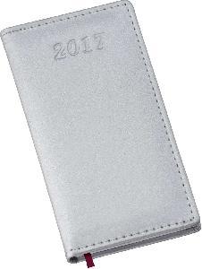 Agenda Metalizada Prata