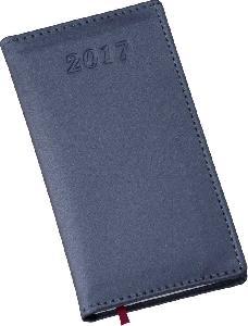 Agenda Metalizada Azul