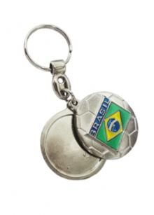Chaveiro Metal Bola 9515
