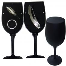 Kit Vinho Taça com 3 Peças